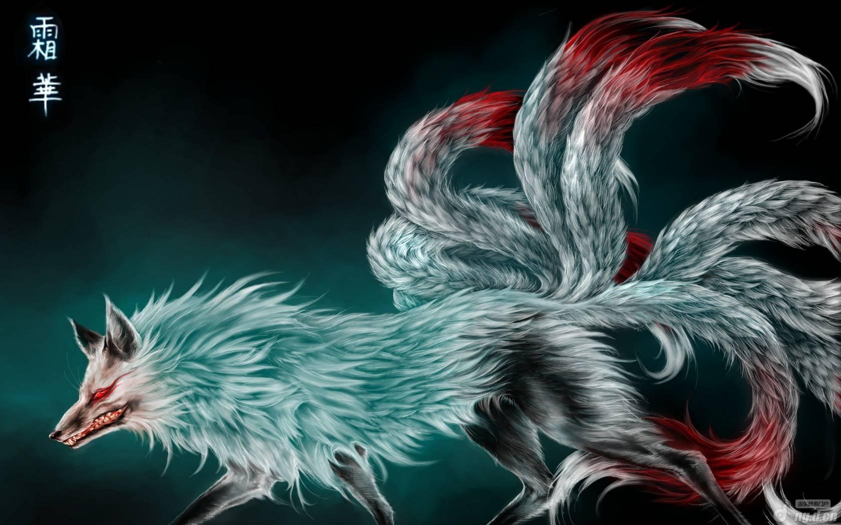 狐狸图腾卡通图片