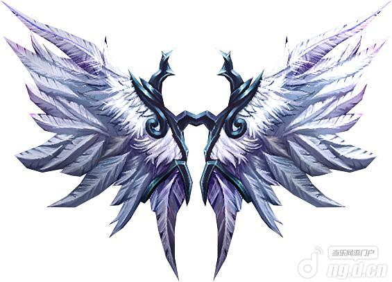 恶魔翅膀可爱素材